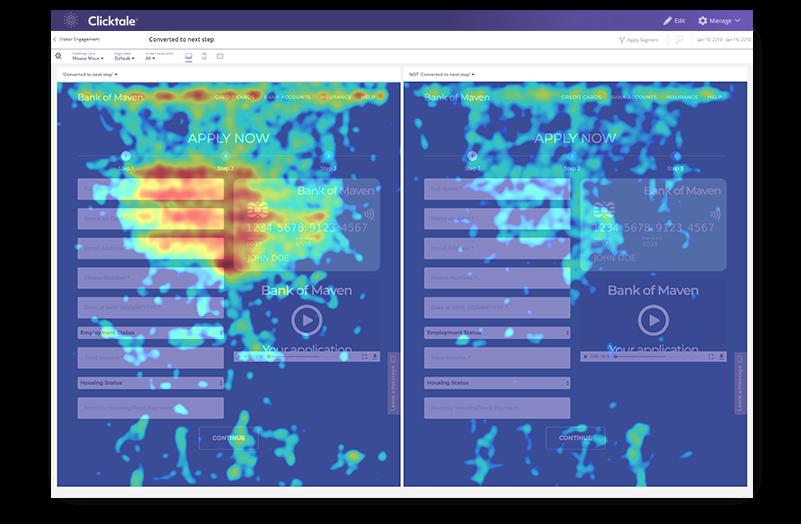 Clicktale - Top Heatmap Tools